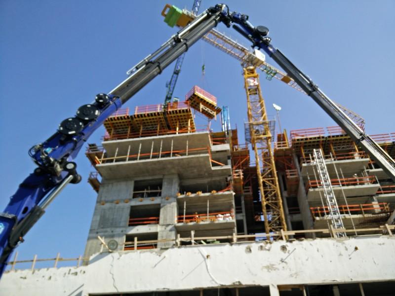 בנייה מתועשת בעזרת טפסות מתכת